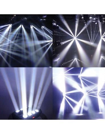 SPIDER LED 8x10w WHITE