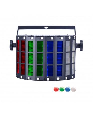 DERBY LED 3x4w RGBW + Strobe