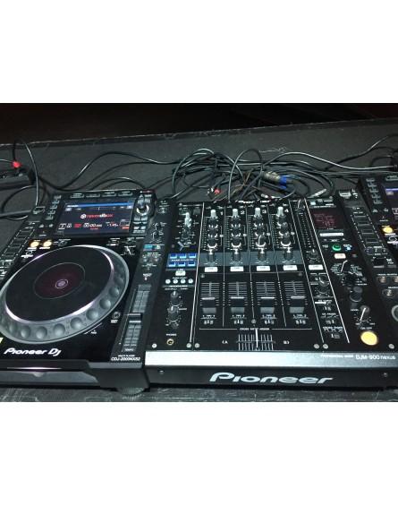 Pack Régie DJ Pioneer DJM900 + CDJ2000N
