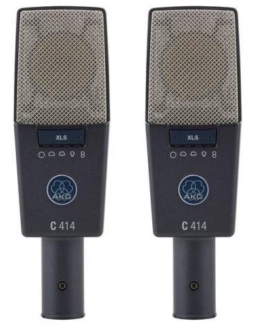 Micro AKG C 414 XLS Appairé (Stéréo Set)