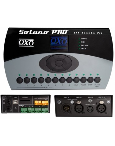 SOLANO PRO - Enregistreur DMX 512