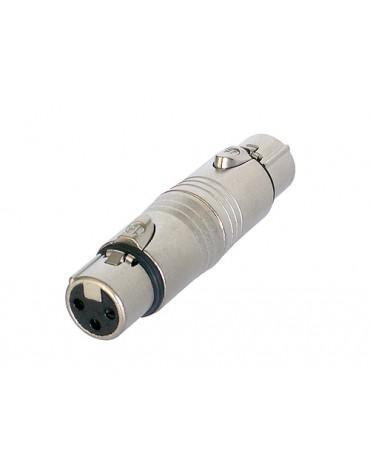Adaptateur XLR 3 Femelle / Femelle NA3FF